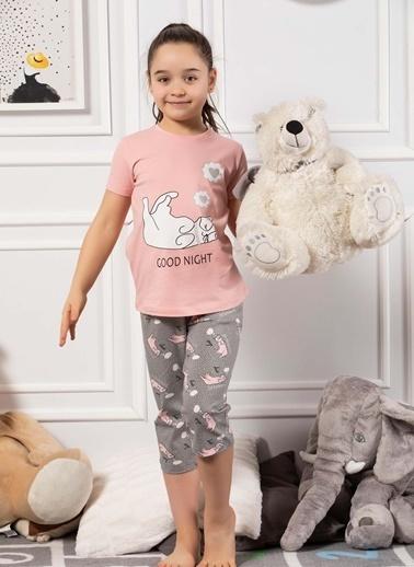 Elitol Pijama Takım Pembe